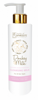 Lapte Curățare și Demachiant, cu Lapte de Măgăriță, 200ml