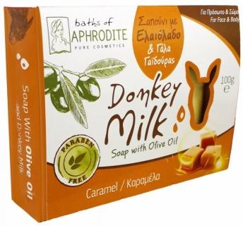 Săpun cu Lapte de Măgăriță, Aromă Caramel, 100g