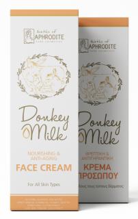 Cremă Anti-îmbătrânire pentru Față, cu Lapte de Măgăriță, 50ml